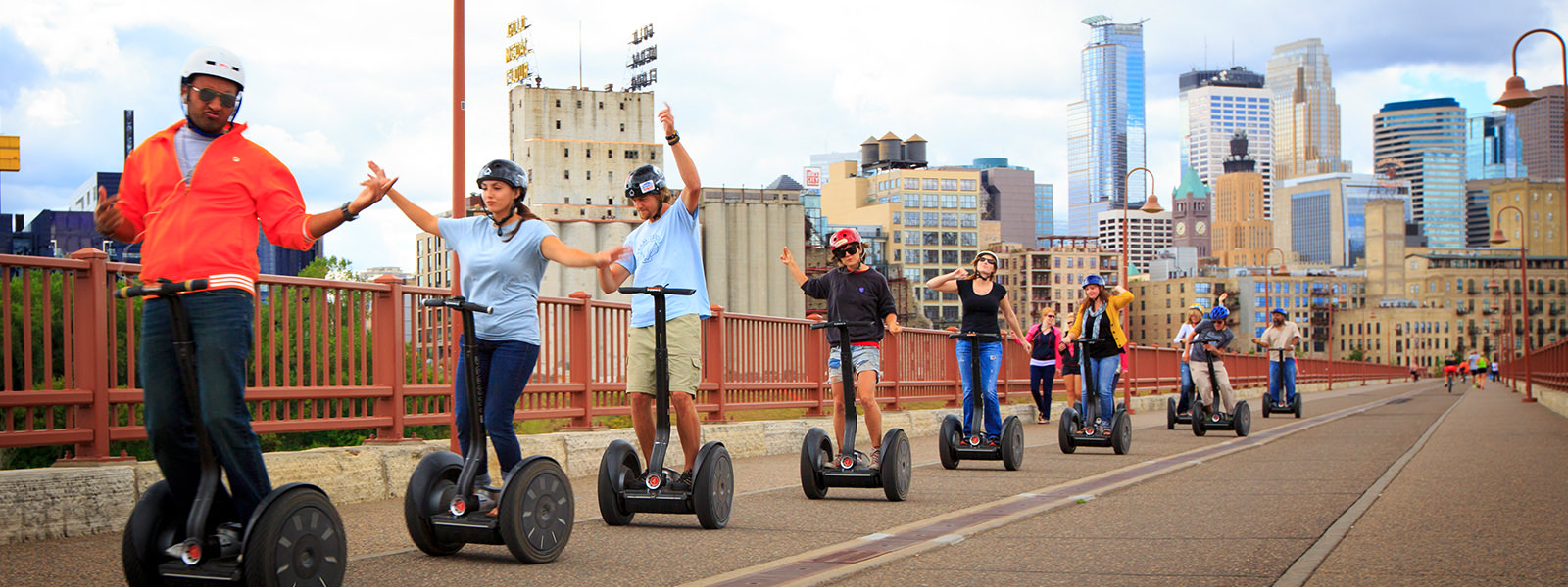 Stone Arch Bridge Segway Picture